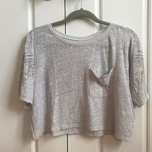 Holister Crop Top Size small
